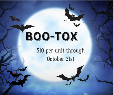 Spooktacular Savings on Boo-Tox at Shea Aesthetic Clinic Image