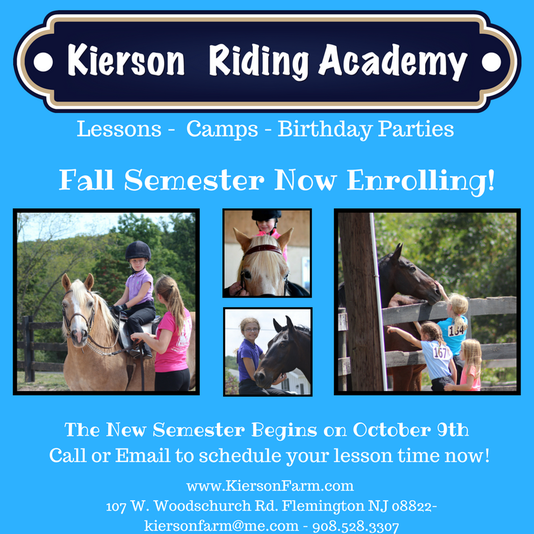 New Semester at Kierson Farm Now Enrolling!  Image