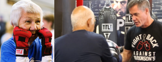 Register for Parkinson's Seminar and Boxing Workout