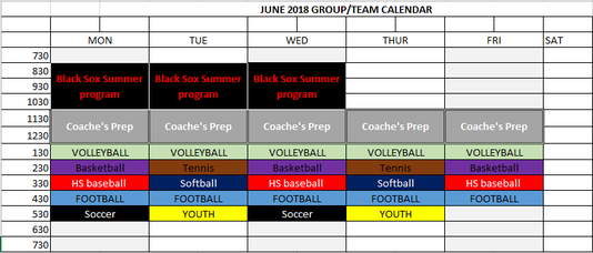 Starting Next Week (JUNE 4th) Group hours change Image