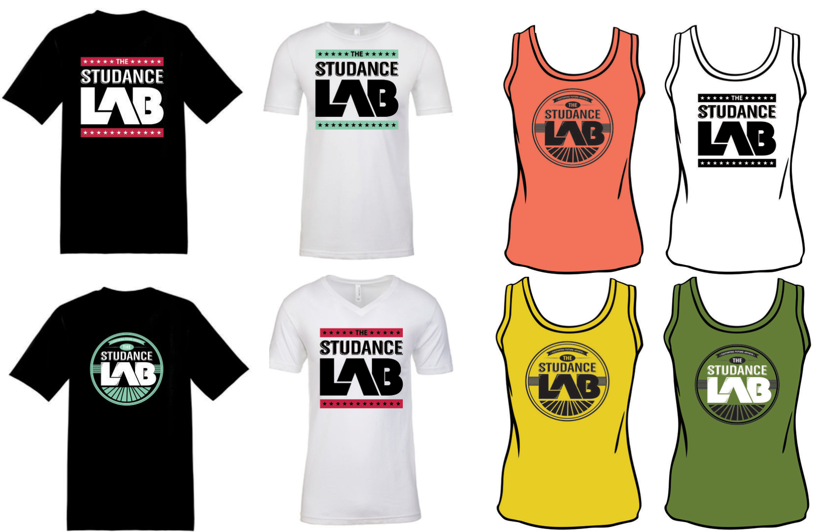 Studance Lab Shirts