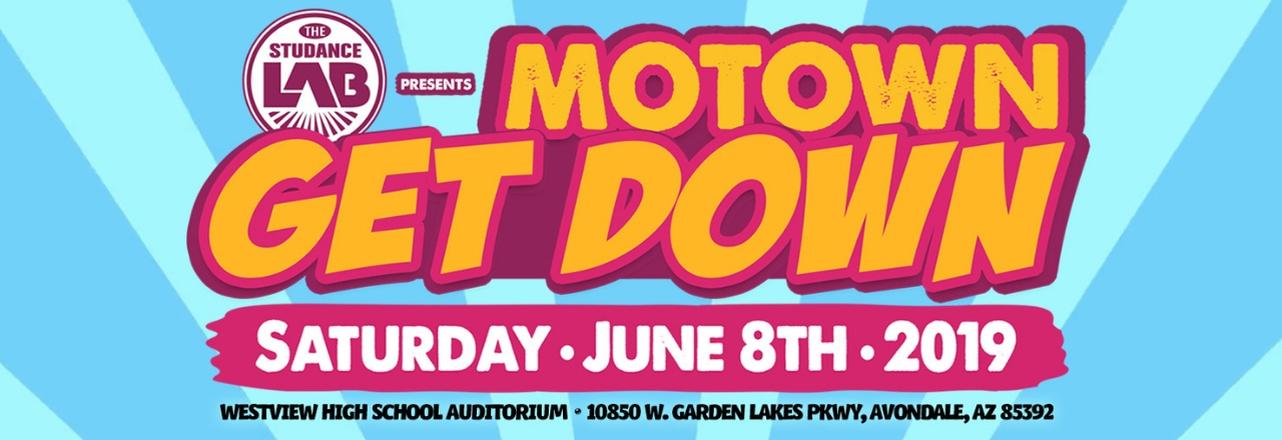 Motown Get Down Recital