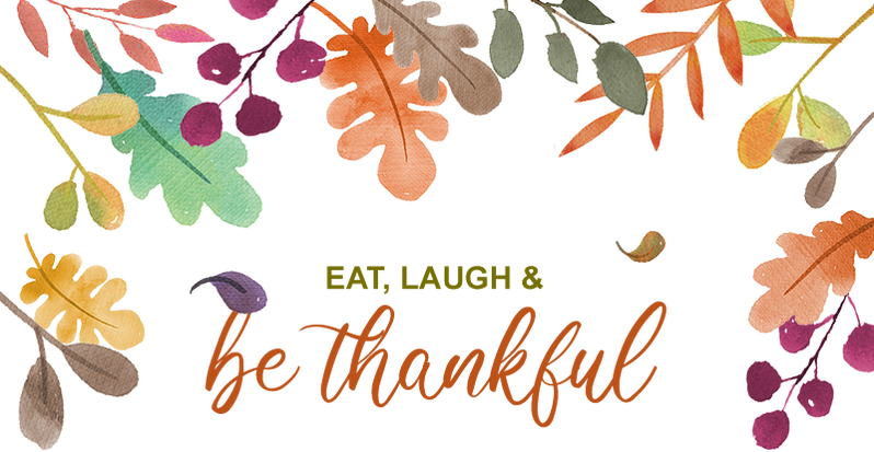 Eat, Laugh & Be Thankful 🍁🍂 Image